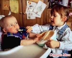 Дети- погодки, особенность второй беременности.