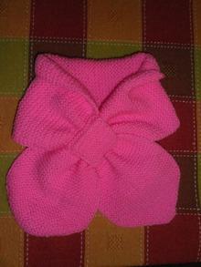 20 моделей детских шарфов спицами бесплатно с описанием 46