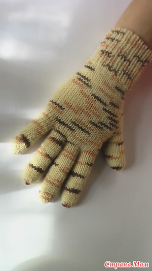 Как вязать перчатки (видео)