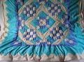 Одеяло в процессе стежки
