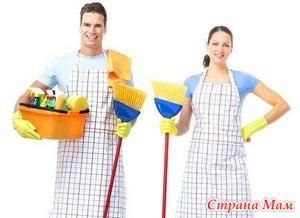 Работающие мамы, а вам работующие папы помогают по дому?