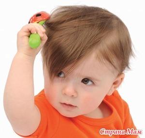 Волосы детей - проблемы ухода и перхоть