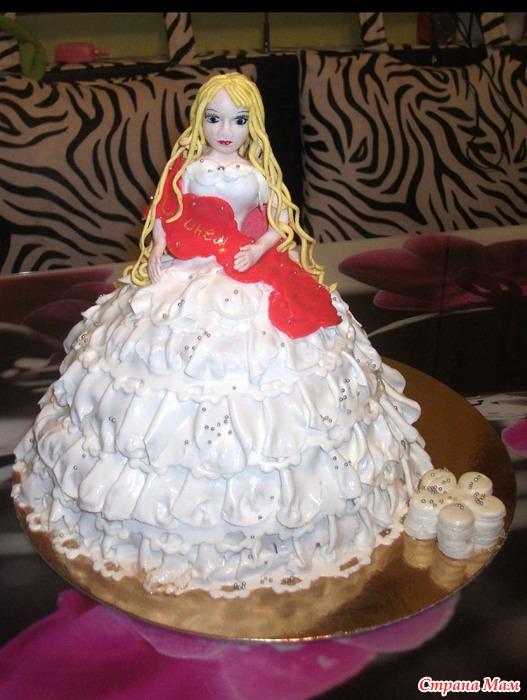 торт куклаиз мастики рецепт с фото