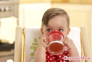 Напитки для детей - выбираем!