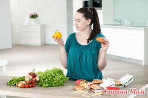 Здоровое питание женщин, кормящих и не только