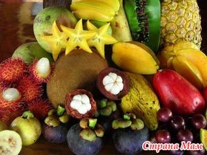 Экзотические фрукты детям и женщинам. Еще немного фруктов