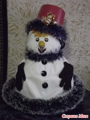 Снеговик -  новогодний гость
