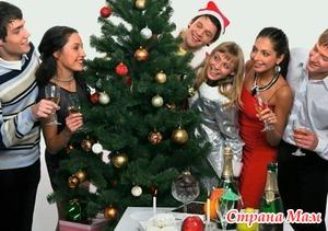 Новогодние развлечения для взрослой компании
