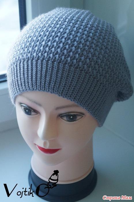 рецепт вязания шапки чулок крючком Sapphire ярмарка см страна мам
