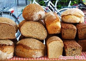 Хлеб, сдоба, блины в питании кормящих