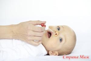 Насморк у детей - диагностика