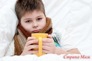Летняя проблема - ангина у детей