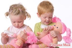 Выбираем куклу для ребенка