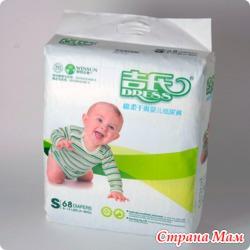 Детские подгузники DRESS — комфорт и качество в одной упаковке