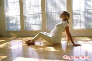 Гимнастика и аквааэробика при беременности