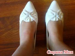 Продам свадебные туфли в отличном состоянии