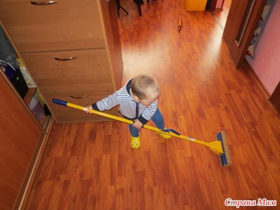 Мы полотеры, мы не плотники...=)))