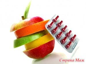 Витамины детям - проявления дефицита. Продолжение