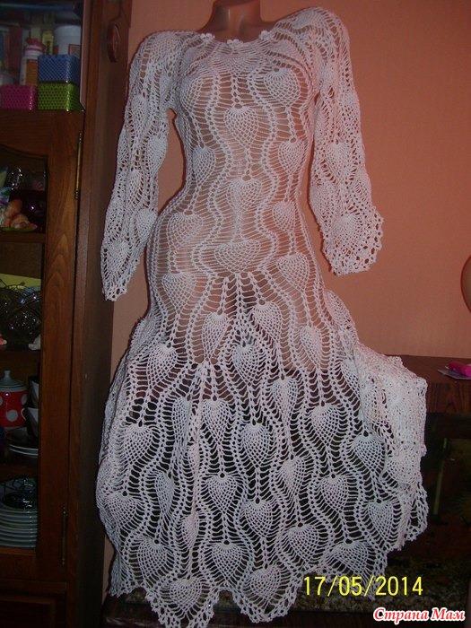 Шикарное незабудковое платье фото всего