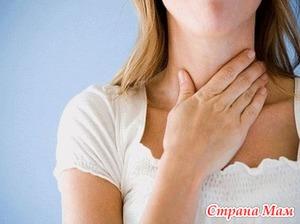 Боли в горле - лечимся