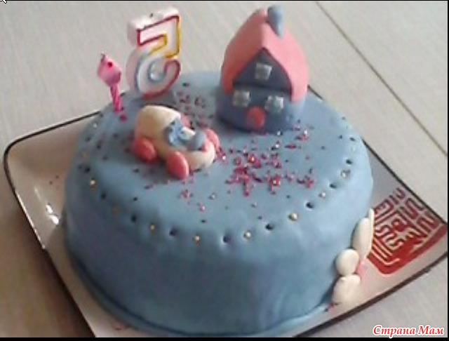 """Тортик """"Голубая мечта"""""""