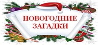 """Новогодние """"Загадки - отвечалки"""""""