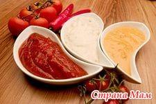 Различные соусы в питании кормящих