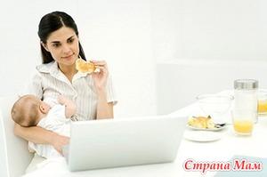 Питание кормящей мамы - сладости