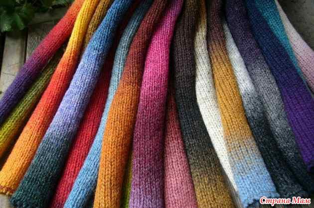 вязание на машине из кауни страна мам