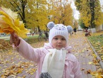 Осенний букет для любимой бабушки