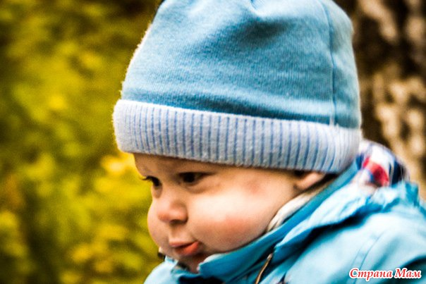 Мой любимый внук Никитка. Наша первая осень!
