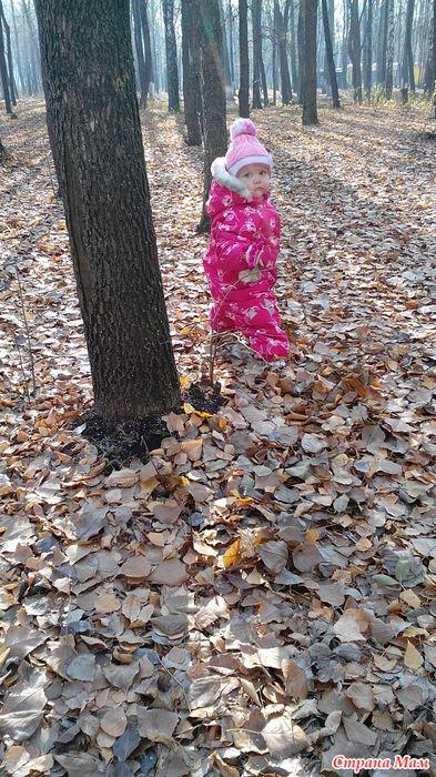 Веруня в парке