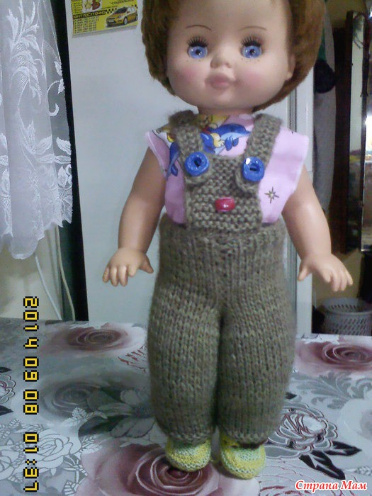 брючки для куклы