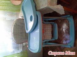 Итальянский стульчик для кормления