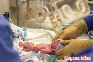 Недоношенные дети - особенности медицинского ухода
