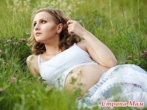 Беременность на даче - купания, загар и питание