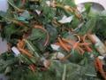 Салат из щавеля и одуванчиков