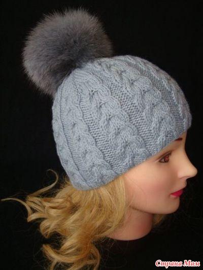 девочки помогите как растянуть связанную шапку страна мам