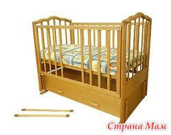 Продам кроватку Можга Ангелина С-676, цвет мед, состояние - как новое