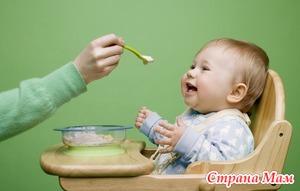 Питание малышей 6-7 месяцев. Прикормы