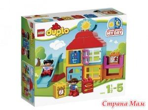Игровой домик-конструктор для малышей