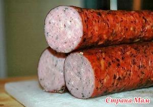 Куриная колбаска - Вкуснотища!