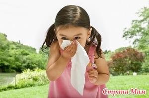 Вопросы аллергии у детей. Часть вторая
