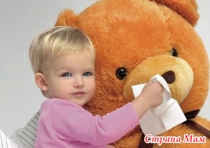Некоторые замечания по лечению соплей у малышей