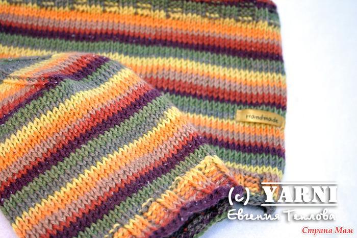 комплект шапочка и снуд тунисское вязание вязание страна мам