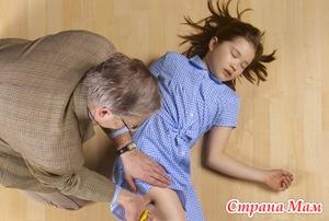 Анафилактический шок - помощь детям!
