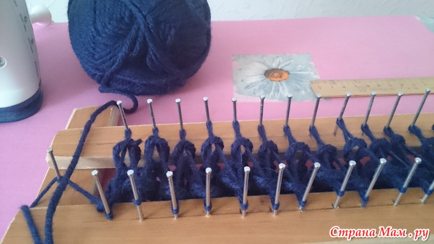 вязание на луме клуб рукоделия страна мам