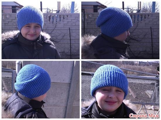 Озорная шапка-бини