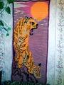 Гобелен с тигром.