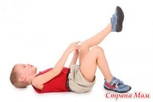 Борьба с болями роста у детей.